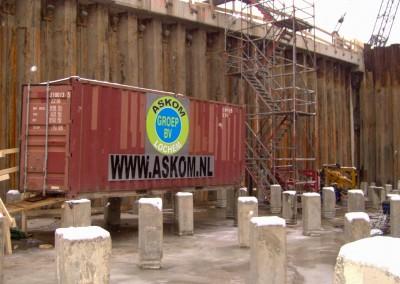 2e-Coentunnel-te-Amsterdam-2008-Laswerk-aan-de-damwanden-8-km-gelast-van-laag-naar-hoog-niveau-stekken-aanpassen-en-snijwerkzaamheden-04
