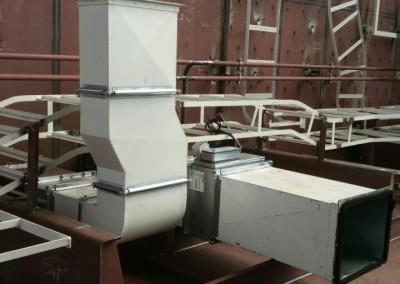 Montage en aflassen leidingwerk-scheepswerf-Askom Techniek